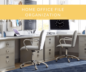 Home Office File Organization