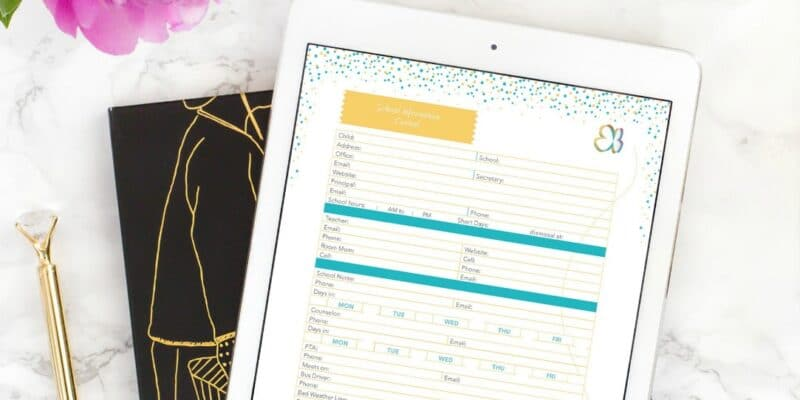 Get organized for daily life and emergencies - A Personal Organizer