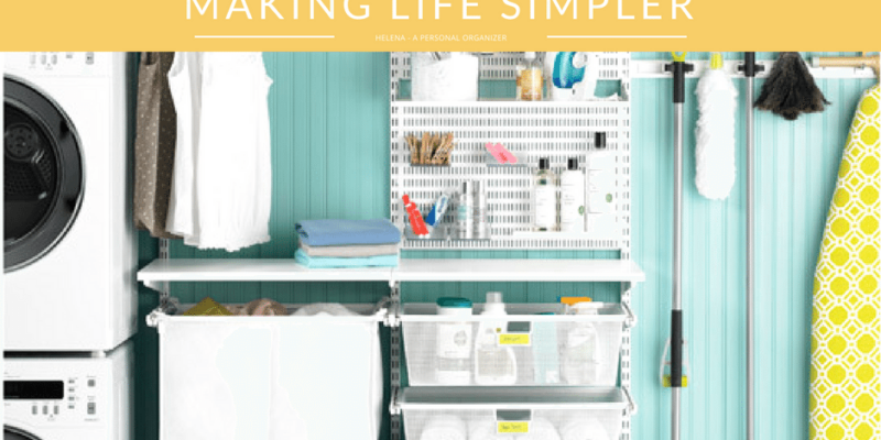 Organizing the Laundry Making Life Simpler