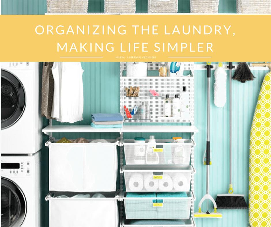 How To Organize The Laundry Room Helena Alkhas Professional Organizer