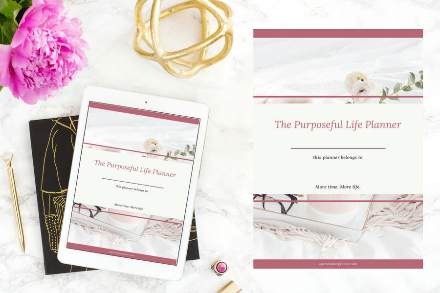 The Purposeful Life Planner & Thrive Family Planner Companions for a life with purpose.
