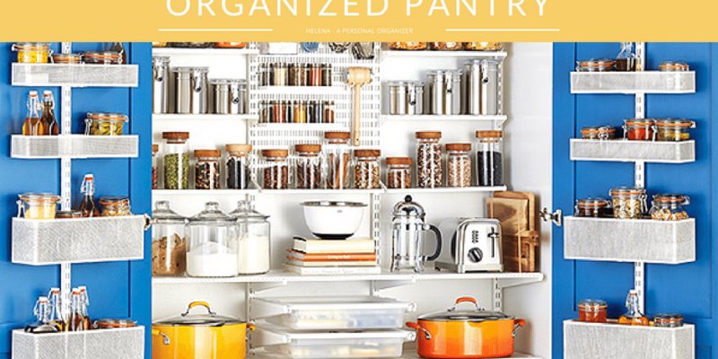 The magic of an organized pantry