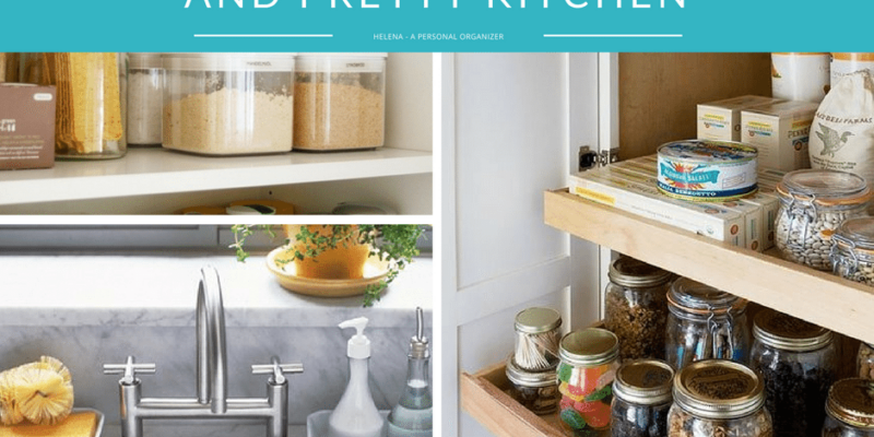 kitchen organizing tips and tools