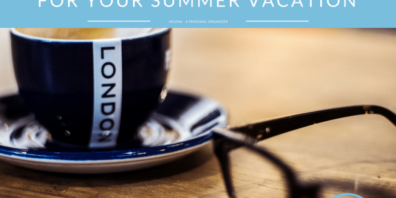 organized summer vacation