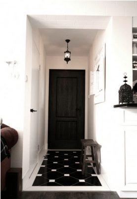 Home Organizing Ideas - Organizing a Narrow Entry