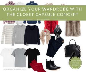 Organize the Closet Using the Capsule Concept