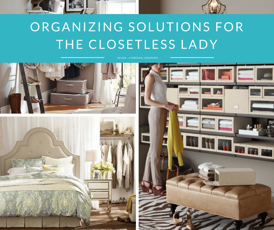 Walk In Wardrobes The Perfect Clothes Solution: Closet Organizing Ideas The No-Closet Solution