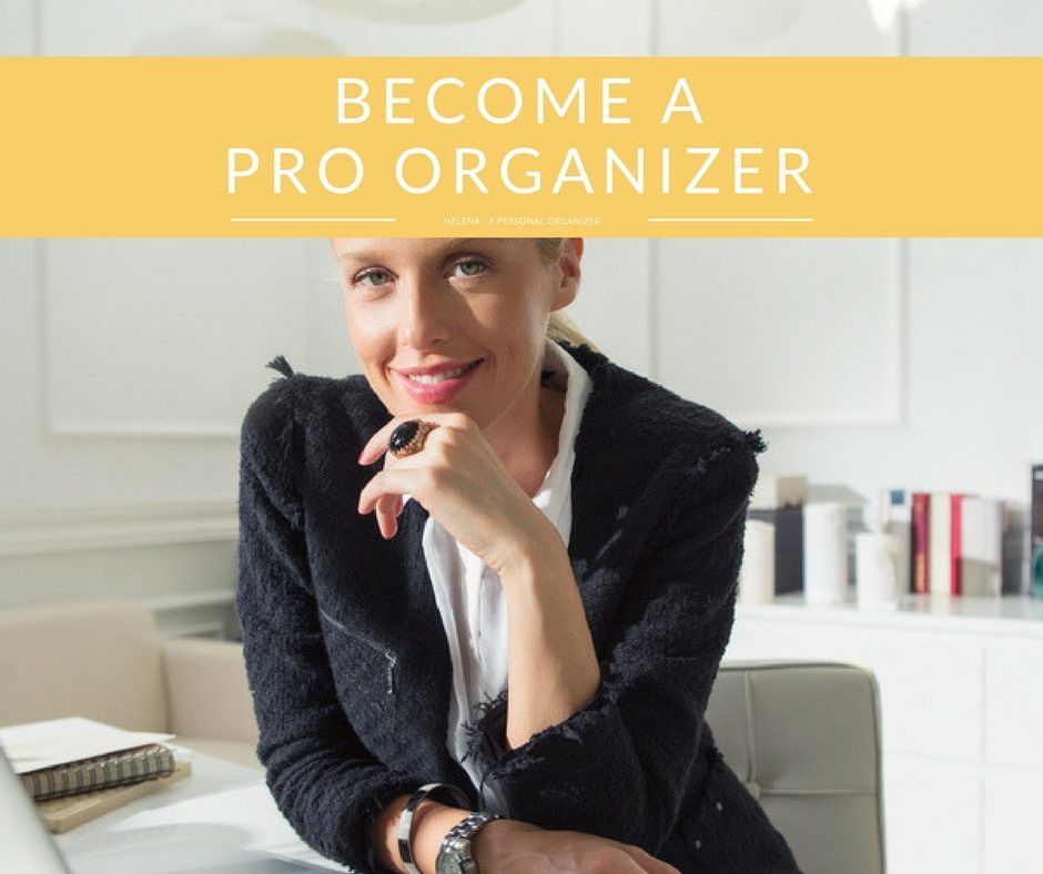 become professional organizer