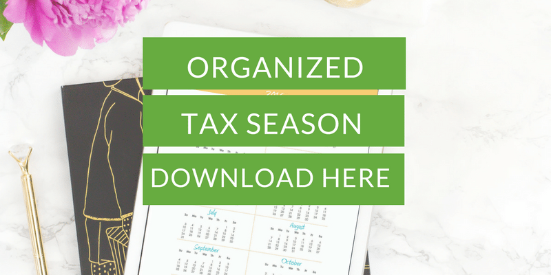Tax season checklist free download