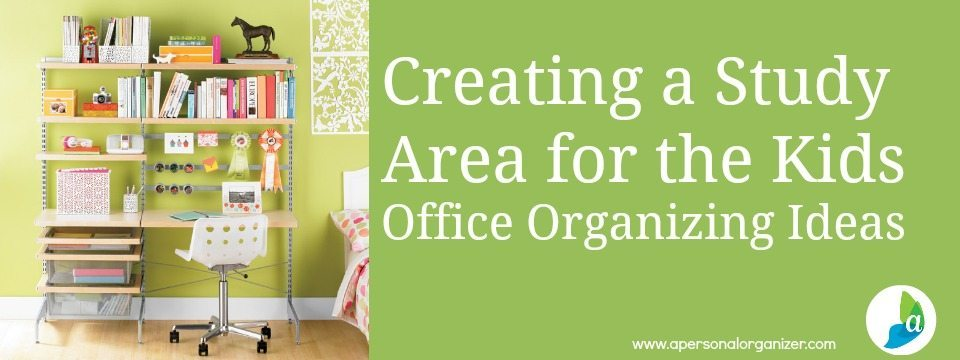 How To Organize The Home Office Homework Station For The