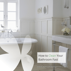 The 15 Minute Plan to Clean Your Bathroom