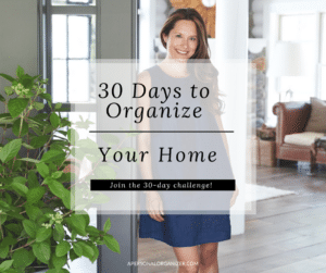 Update! Join the 30 Days Organizing Challenge