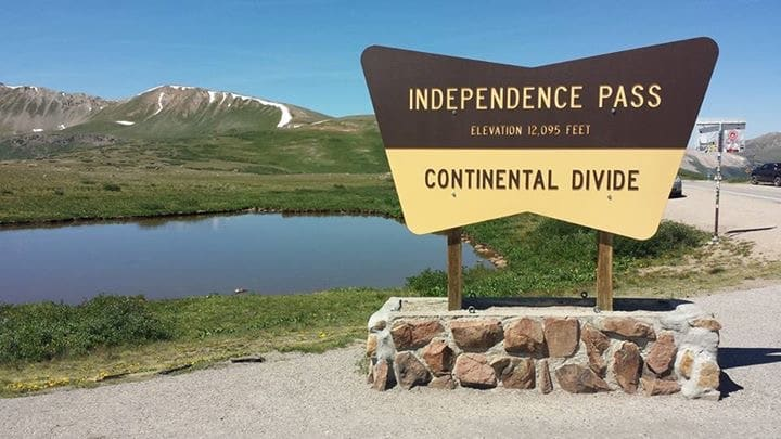Moving, leaving the military and finding a new home. The Continental Divide.