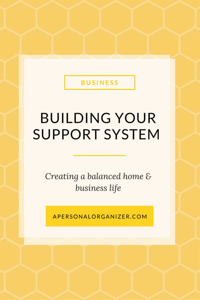 Creating a support system for a balanced work and business life.
