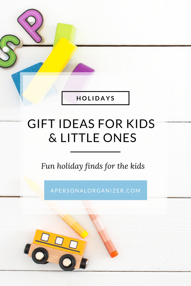 Not quite sure on what to give to the special children on your list? No worries! I researched and compiled a list of gift ideas for kids for you. #giftideas