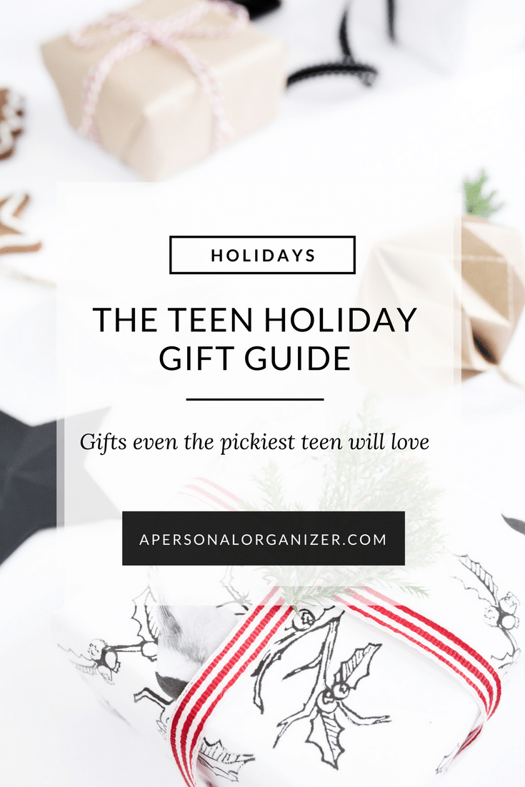 The Teen Gift Guide: Unique items that are sure to appeal to even the pickiest or coolest teenager.