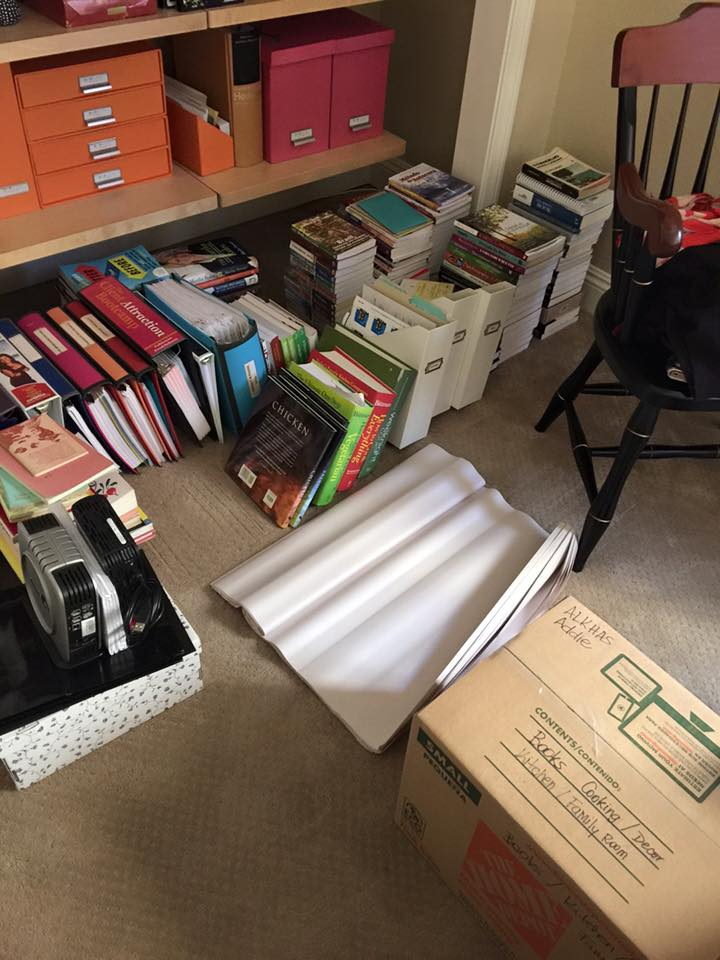 Moving, leaving the military and finding a new home. Decluttering and packing For Sale