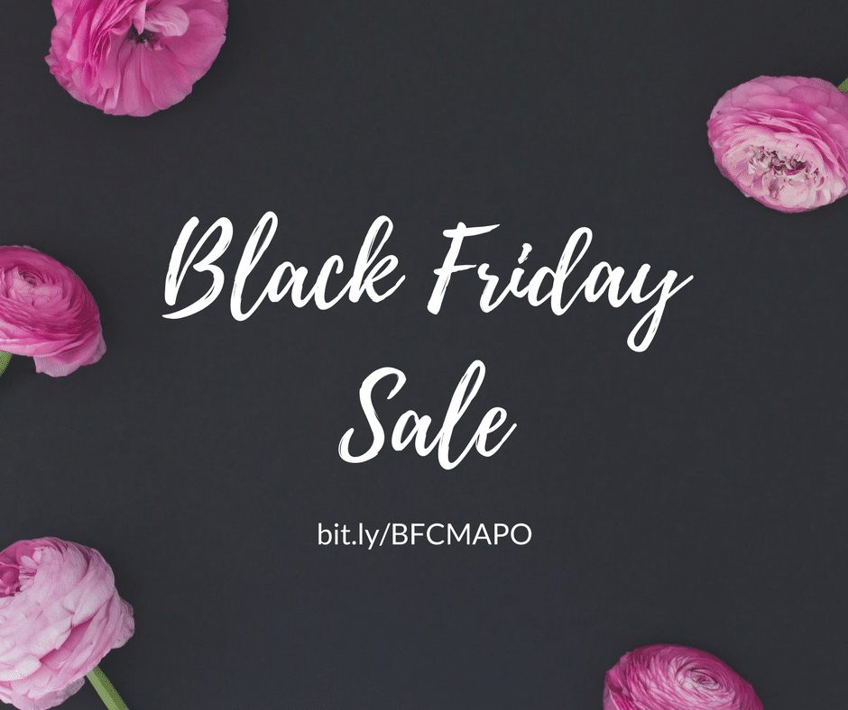 Black Friday Sale! Your favorite home and life planner for the best price!