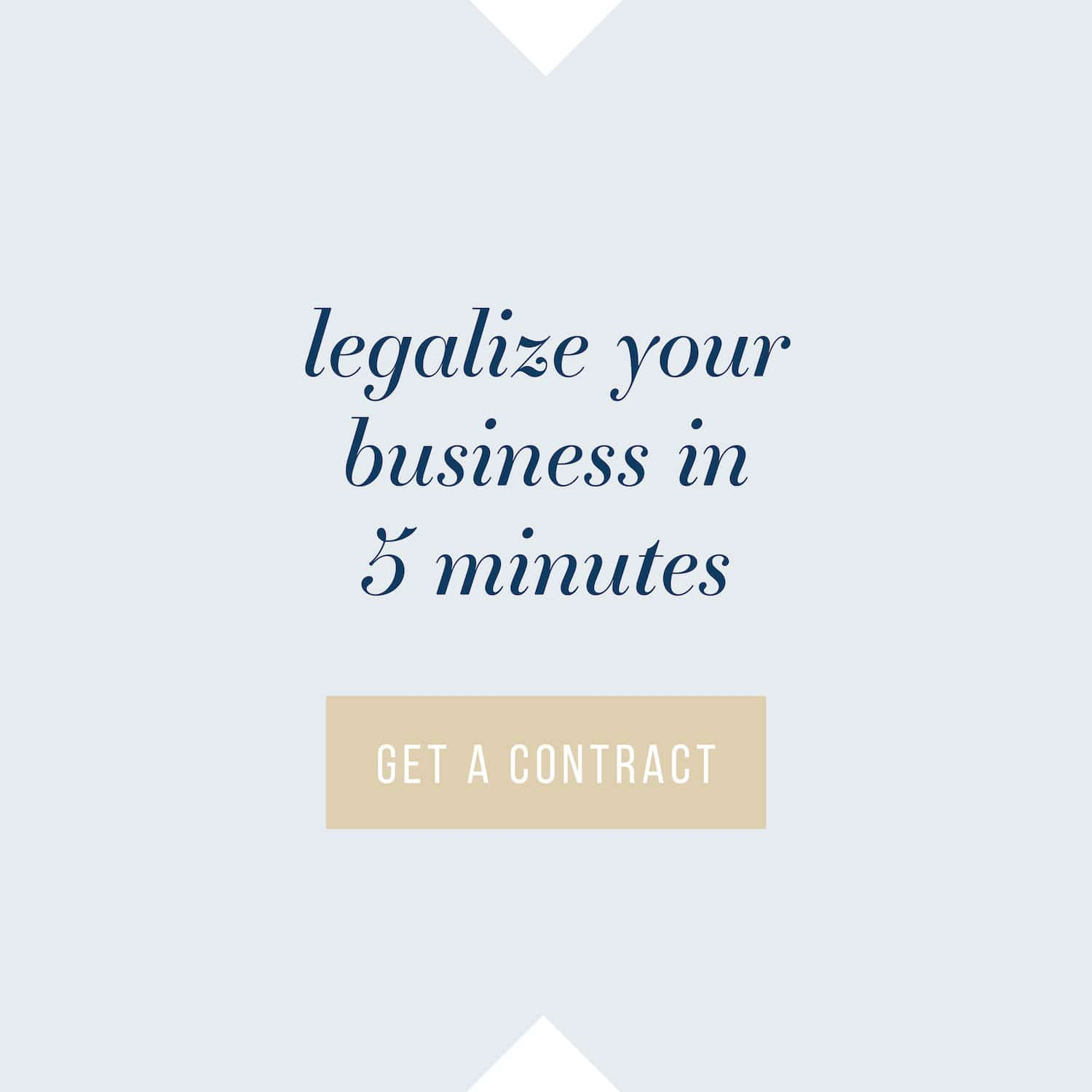 Legalize your business in 5 minutes with The Contract Shop