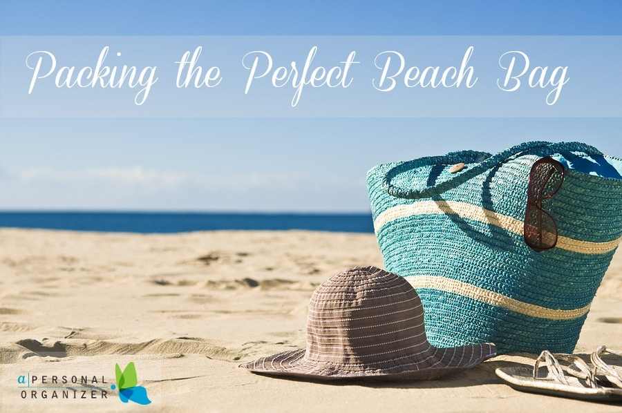 Packing the ultimate beach bag with kids.