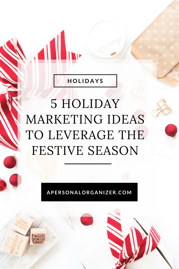holiday marketing ideas