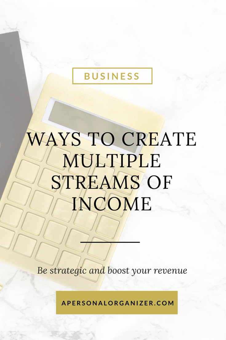 Diversify your portfolio and create multiple streams of income.