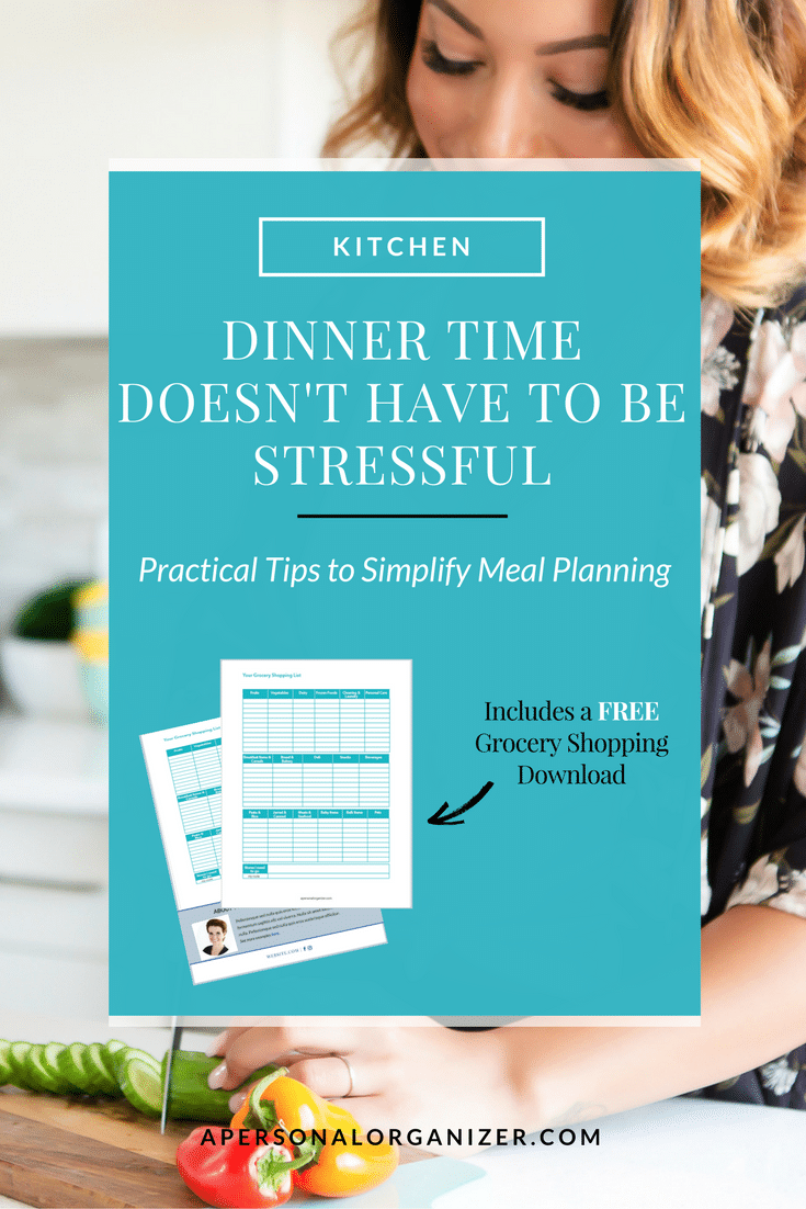 Dinner Time Doesn't Have to Be Stressful!Join the Meal Planning Bootcamp to conquer mealtime stress & eat cleaner -in 20 minutes a day! #mealplanning #menu