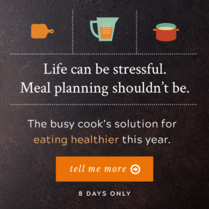 Healthy Meals Don't Just Happen
