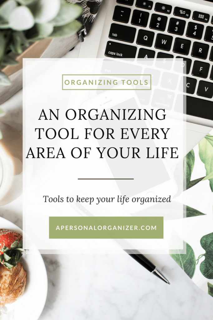 An organizing tool for every area of your life.