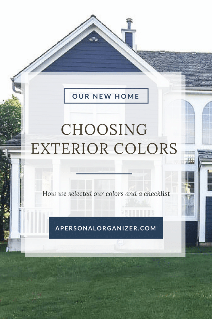 Choosing exterior colors for our new home helena alkhas - Selecting exterior paint colors concept ...