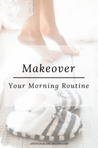 Daily Morning Routine - A Personal Organizer