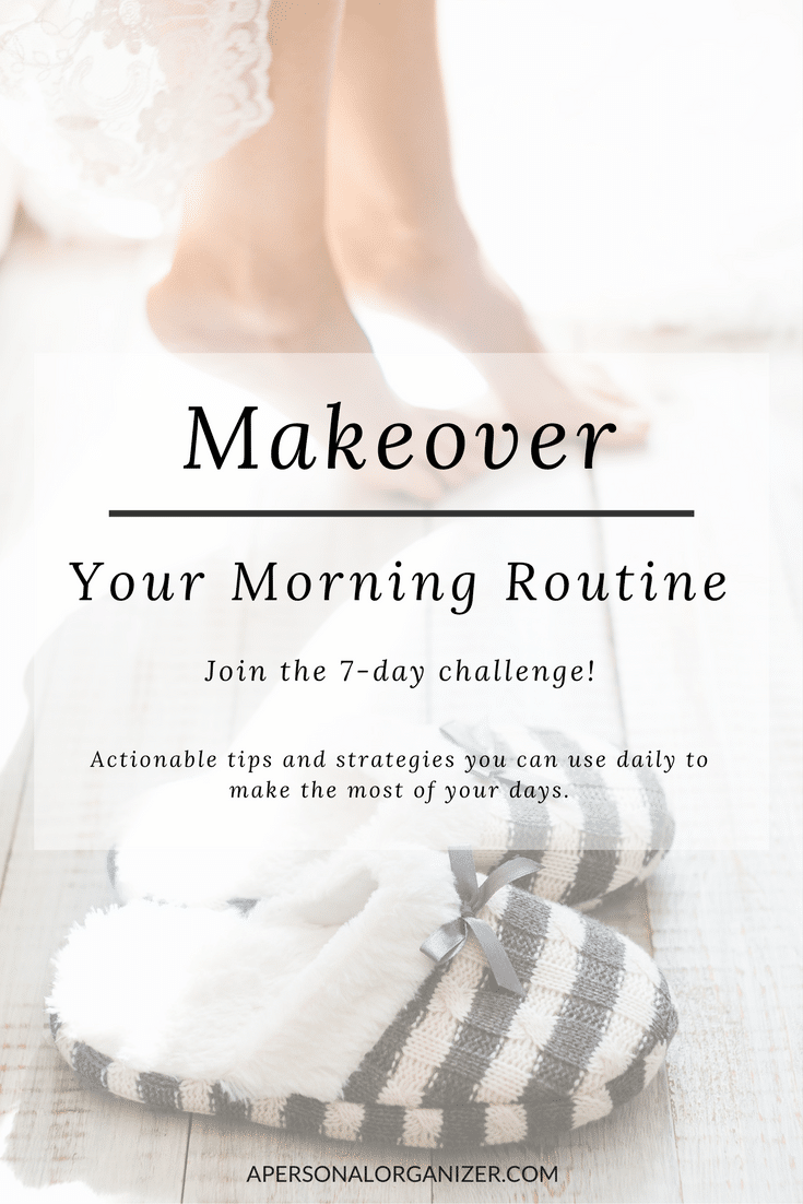 Actionable tips and strategies you can use every day to make the most of your mornings. Let me guide you for 7 days to makeover your morning routine, making you more productive and happier about all you're about to accomplish. Follow me!