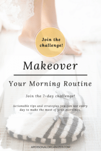 join 7 day challenge - A Personal Organizer