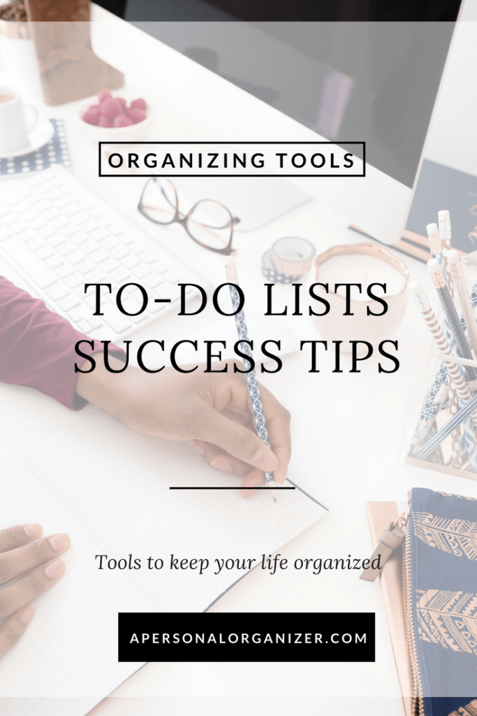 To-do list success tips. How to make your to-do list work for you!