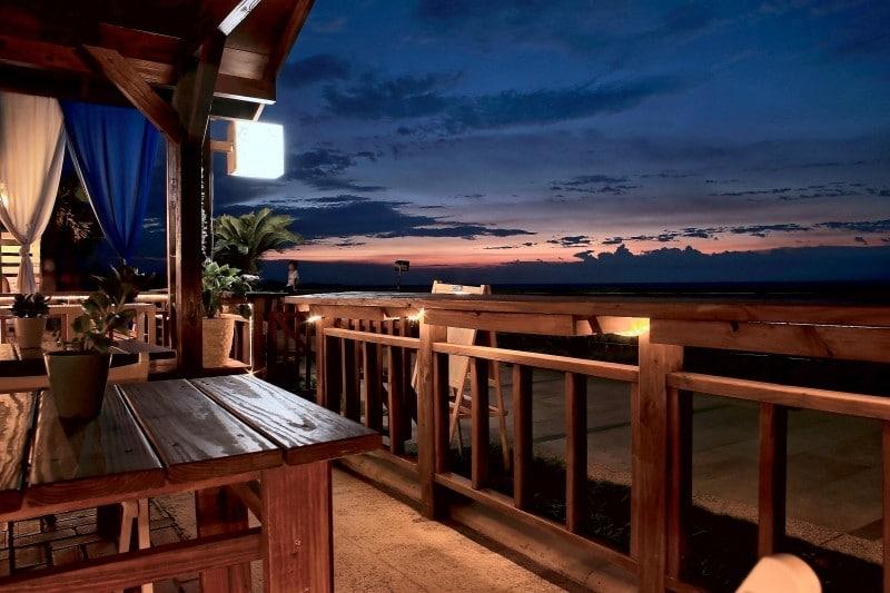 Casa de praia com vista para o mar
