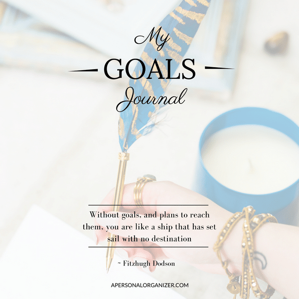 Shop My Goals Planner - A Personal Organizer