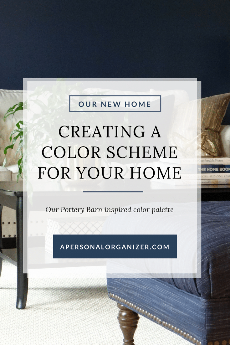 Selecting a color palette for your entire house. The colors we picked and how they look in each room.