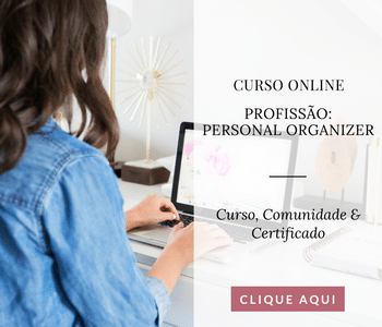 personal organizer fazendo curso online