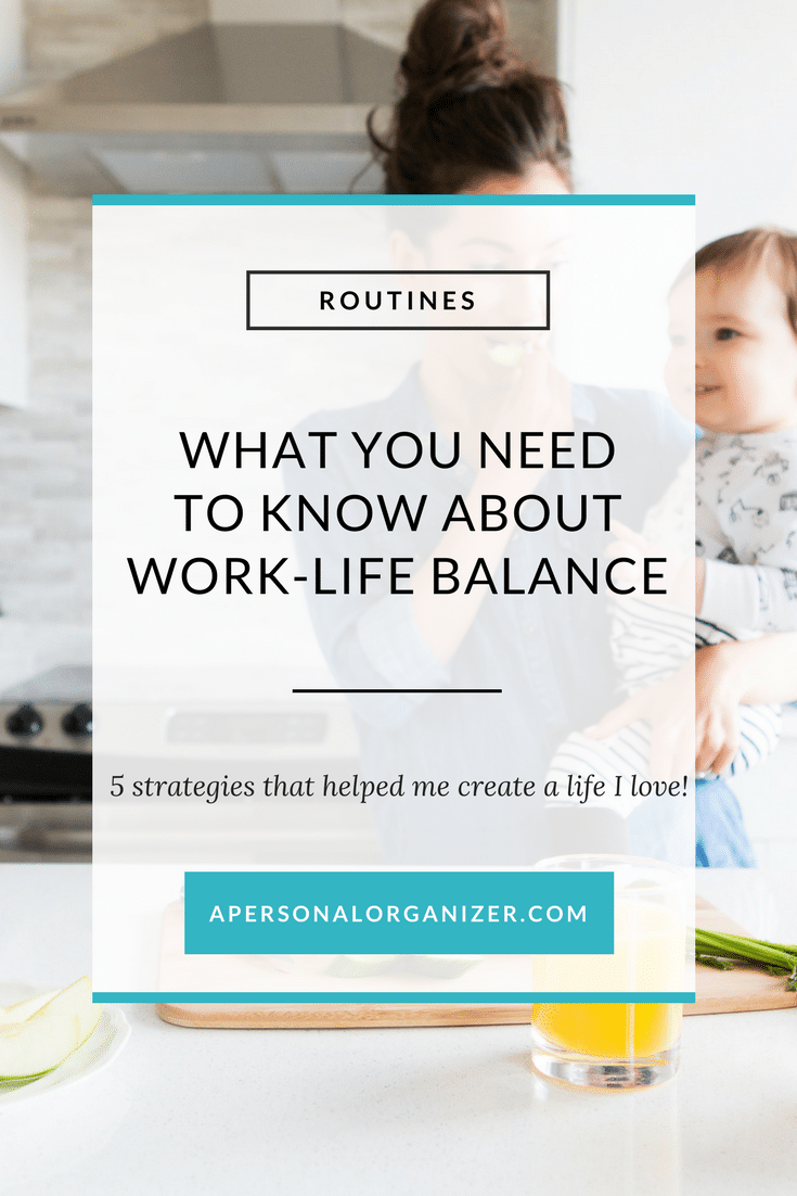 I hate to burst your bubble, but experience has taught me that work-life balance actually doesn't exist. 