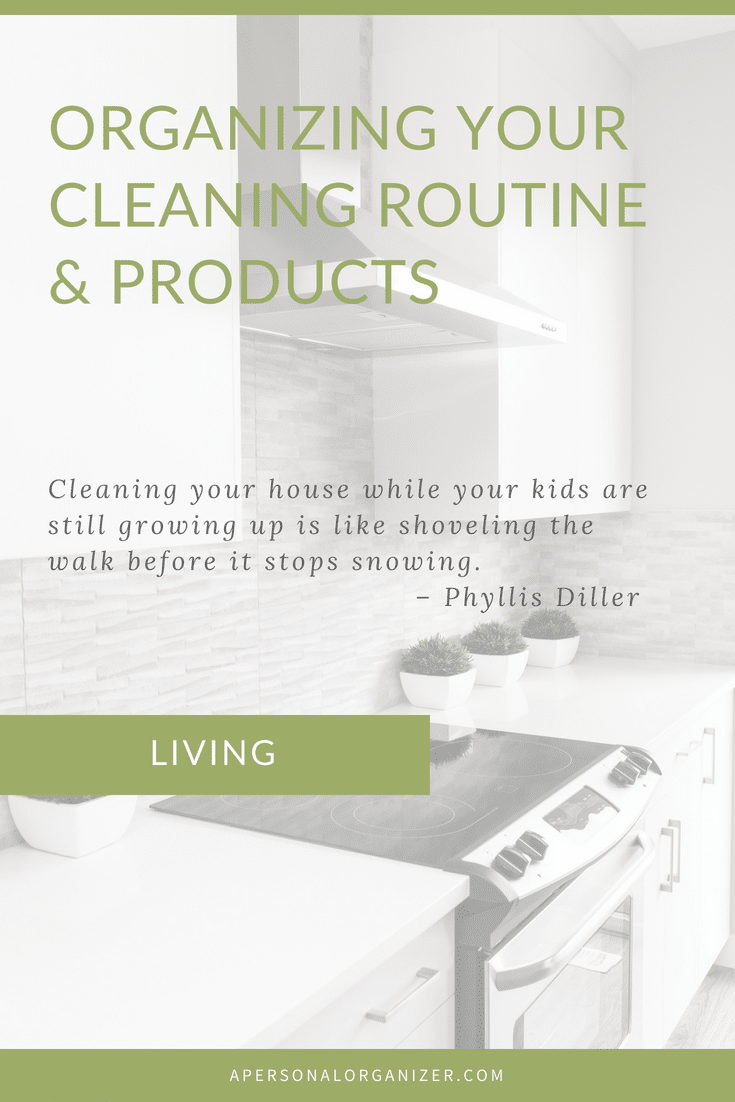 Organizing Your Cleaning Routine. We all want to keep our homes clean and tidy but how to achieve that when we're juggling work, family and all in between? Check here for tips and a cleaning schedule to make cleaning tasks simpler.