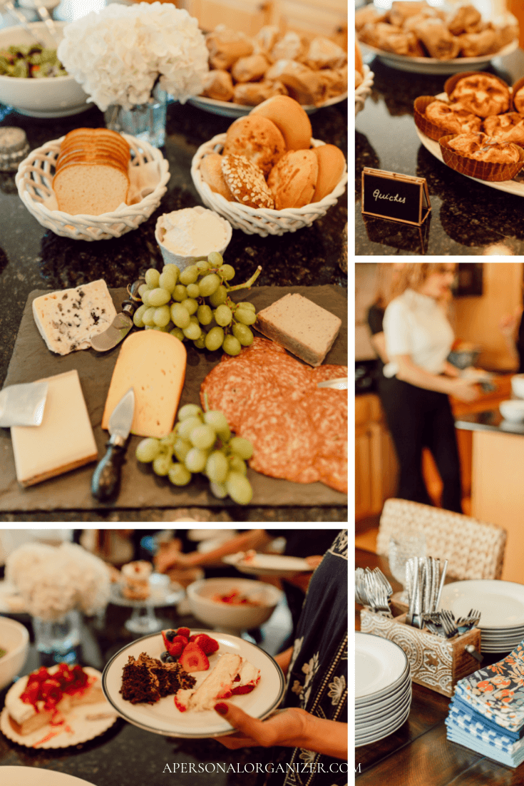 How to host a brunch!  Tips on how to organize, what to serve and a shopping list for a fabulous brunch with friends.