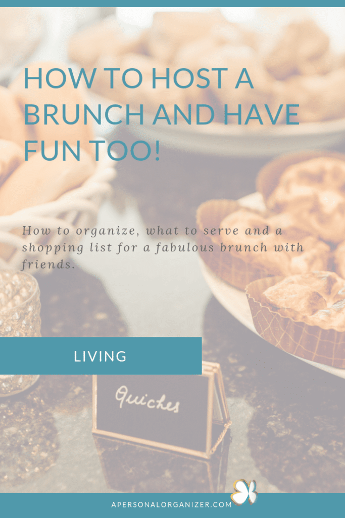 How to host a brunch.