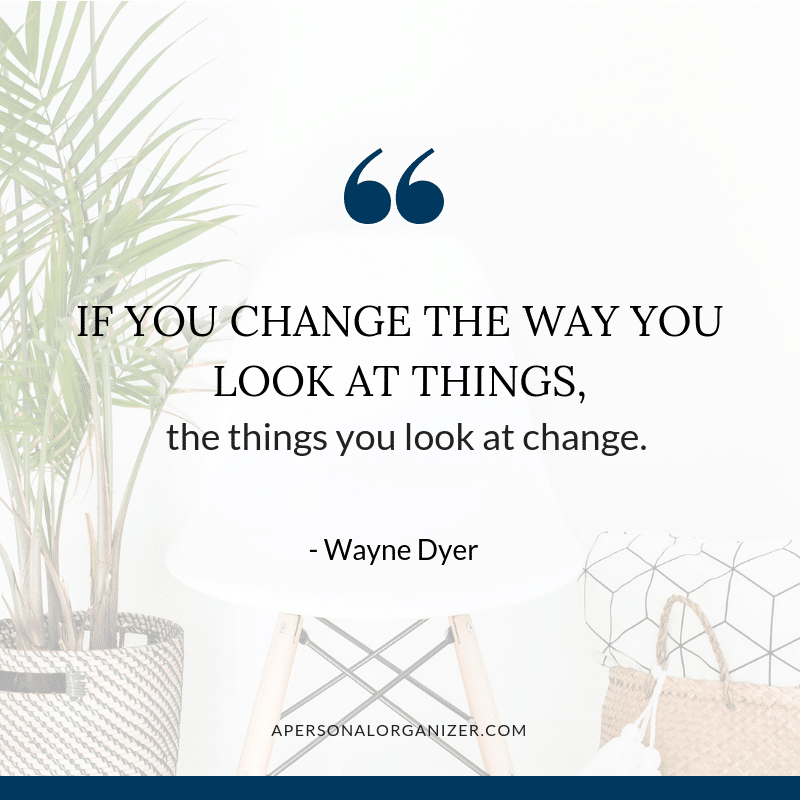 quote change the way you look at things