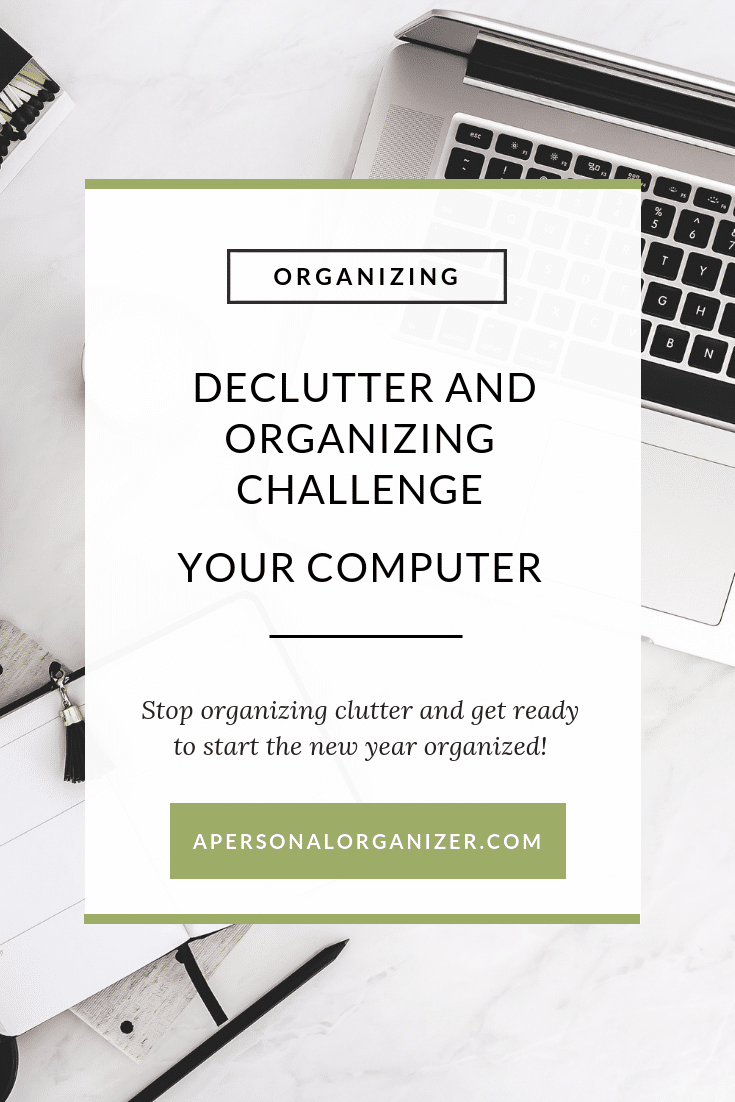 Ready of organizing and re-organizing over and over again? Join the Decluttering and Organizing Challenge to organize your home room by room. Today we are organizing our computers!