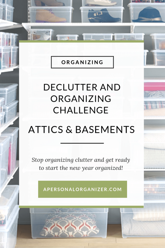Organizing Attics, Basements and Storage Spaces