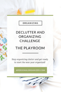 The Playroom - A Personal Organizer
