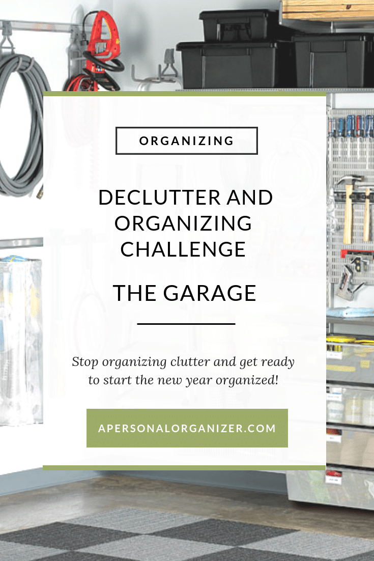 Decluttering & Organizing Your Garage