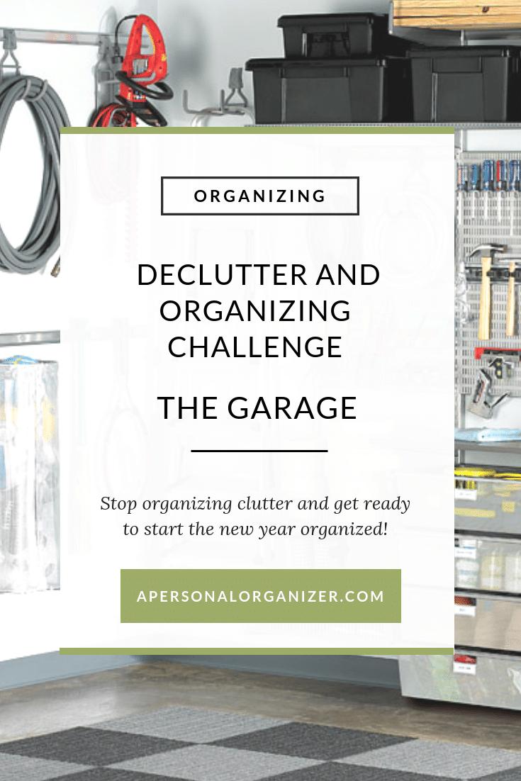 Decluttering & Organizing Your Garage