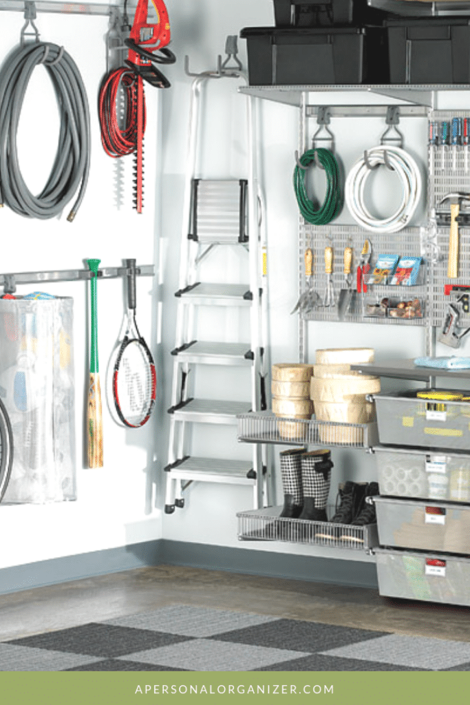 The Garage - A Personal Organizer