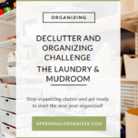 Organizing The Laundry and Mudroom